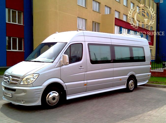 Mercedes-Benz Sprinter 515 серебро