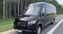 Mercedes-Benz Sprinter 519 2019, черный, 15 мест