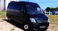 Mercedes-Benz Sprinter 515 черный